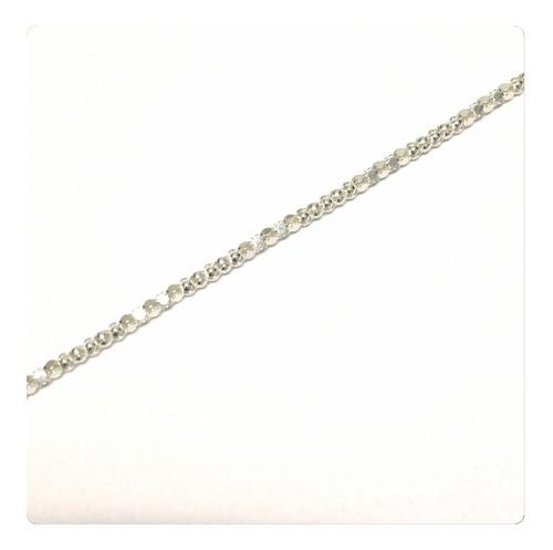 pulseira  em prata 925 feminina modelo pipoca maravilhosa