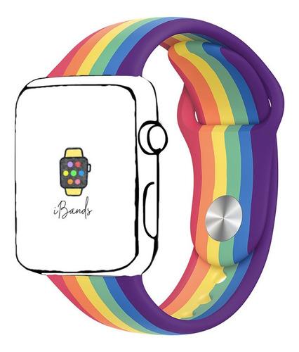 pulseira esportiva pride orgulho apple watch 38mm 40mm sm