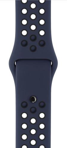 pulseira estilo nike apple watch 38/40mm  - azul marinho