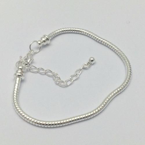 pulseira estilo pandora vivara life 19cm