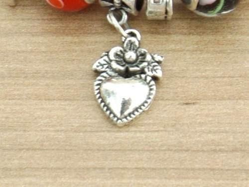pulseira feminina folheada á prata