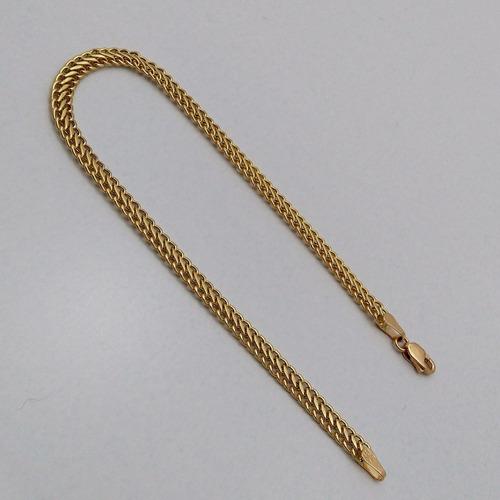 pulseira feminina lacraia em ouro 18k liga 750 frete gratis