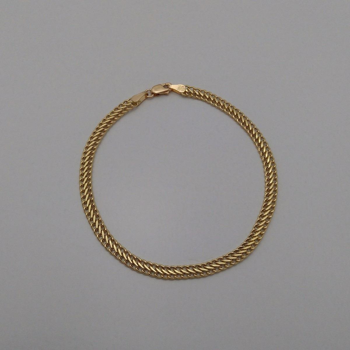 cf91a501083 pulseira feminina ouro 18k liga 750 elo lacraia frete gratis. Carregando  zoom.