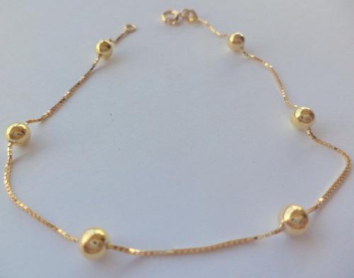 pulseira feminina ouro
