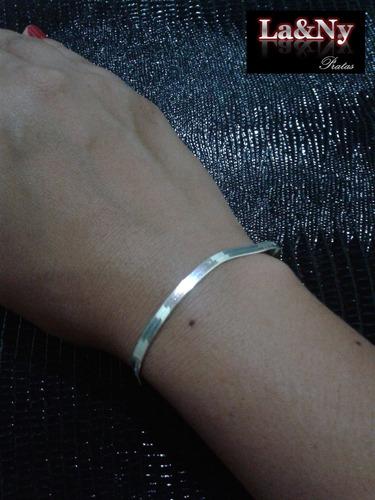 pulseira feminina prata
