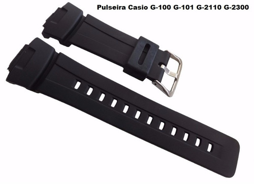 pulseira g-shock casio g2110, g2300, g2310 g2400, gw2300