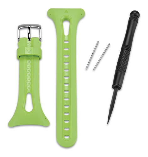 pulseira garmin forerunner 10 verde pequena