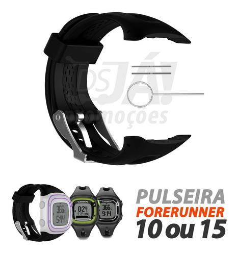 pulseira garmin forerunner modelos 10 e 15 - top