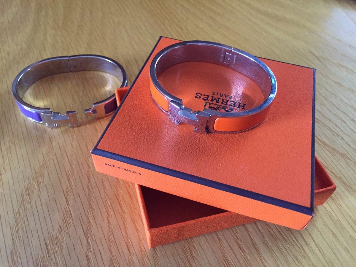5ef86b42306 pulseira hermes original igual nova - roxa. Carregando zoom.