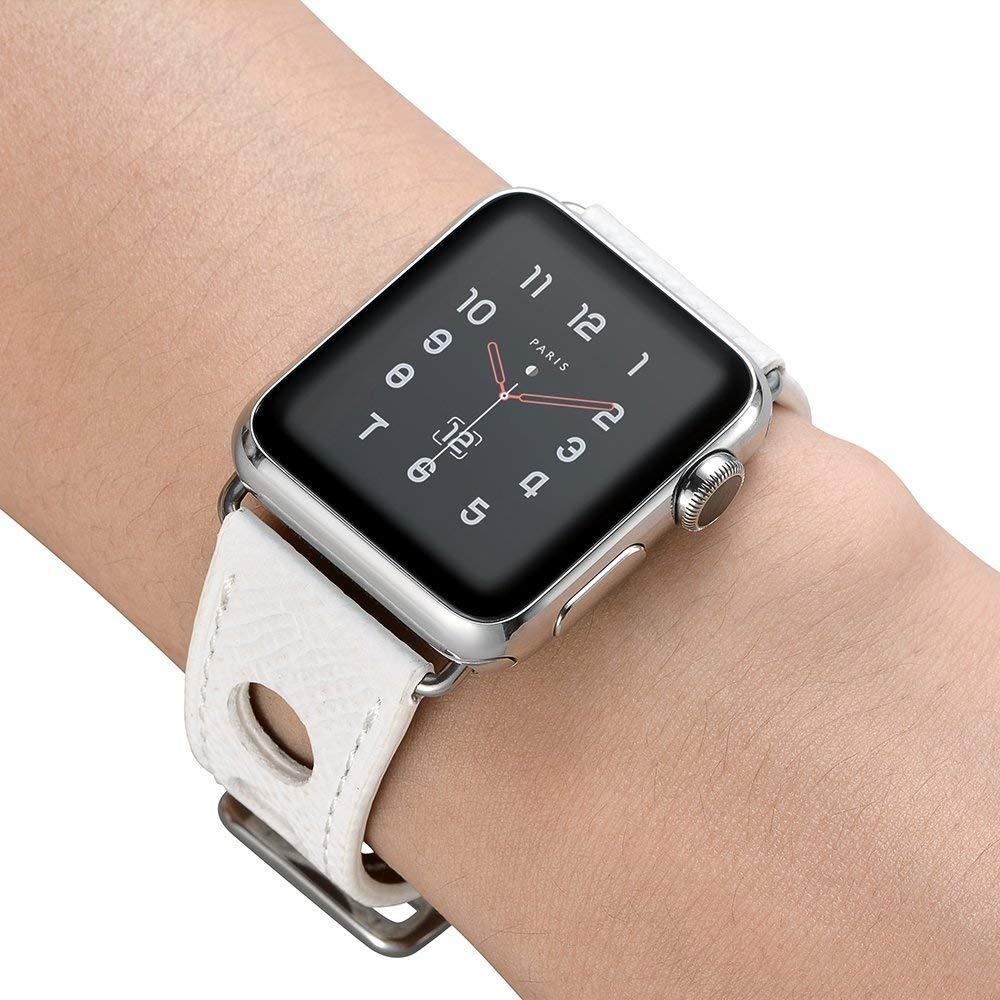 4c91bea7528 Pulseira Hermes Rallye Apple Watch Couro 42mm - R  120