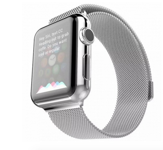 24d63452706 Pulseira Hoco Apple Watch 42mm Metal Milanese Loop) Prata - R  339 ...