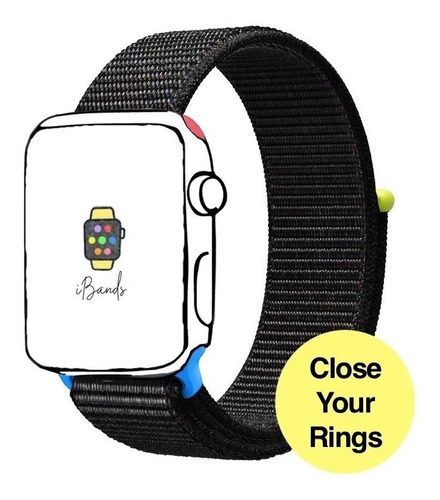 pulseira ibands exclusiva complete os círculos apple watch