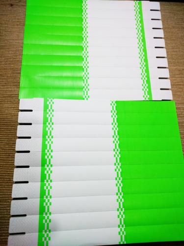 pulseira identificação p/ impressora jato tinta kit c/ 1000