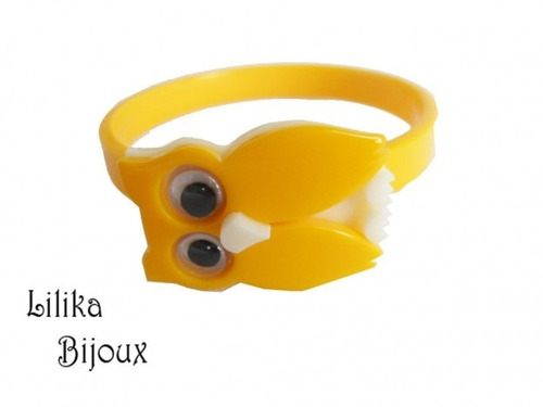 pulseira infantil - coruja
