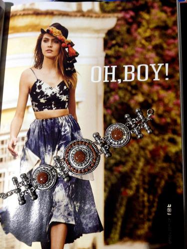 pulseira infinity hippie chic boho style