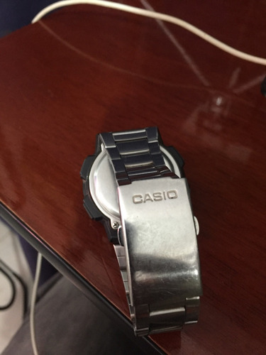 pulseira inox casio usada (só venda)