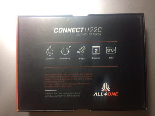 pulseira inteligente connect u220 all4one