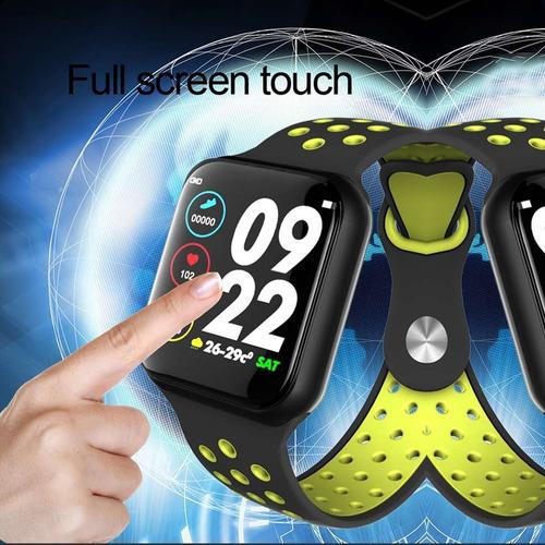 pulseira inteligente f8 esporte frequência cardíaca - amar