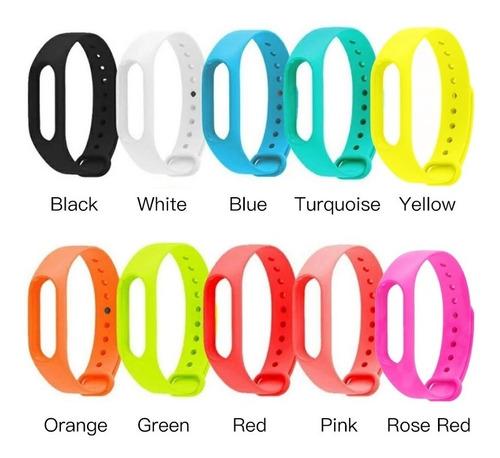 pulseira inteligente m2 todas as cores promocaoção colorida