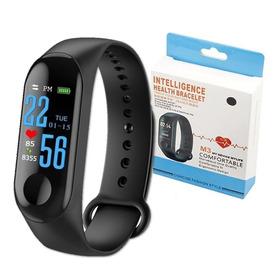 Pulseira Inteligente Relógio Smartband M3 Conta Passo Correr