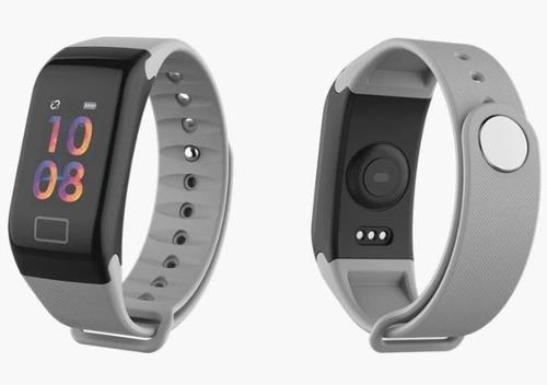 pulseira inteligente smart f1 monitor cardíaco android ios