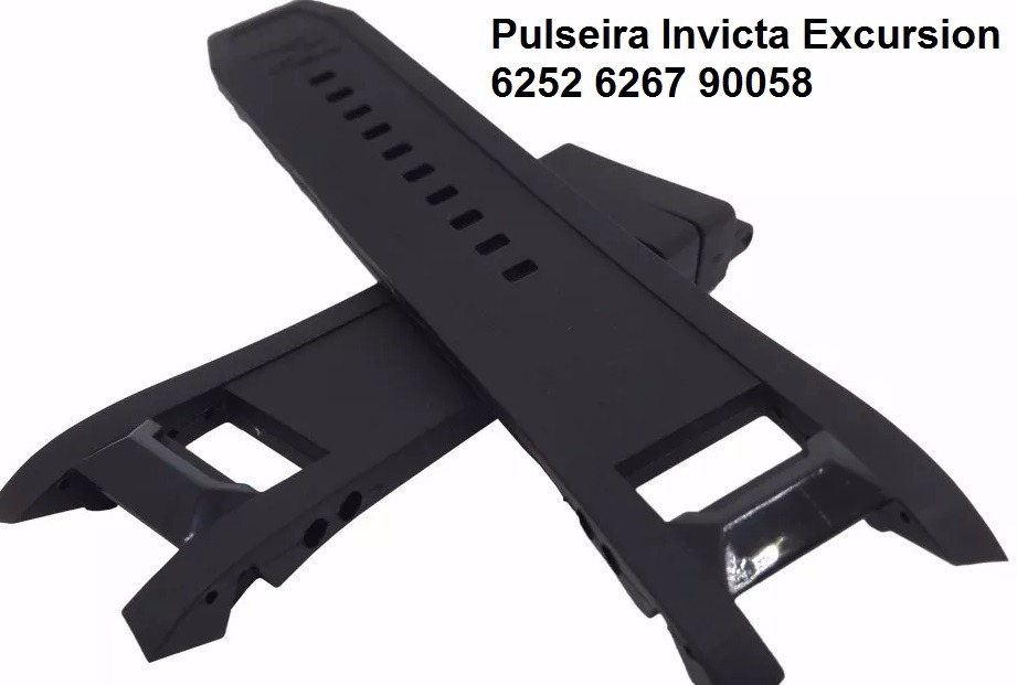 a7f2eec6a68 Pulseira Invicta Excursion 6252 6267 90058 6262 6263 6264 - R  90