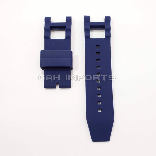 pulseira invicta subaqua noma 3 iii azul 5515 18527 - novo