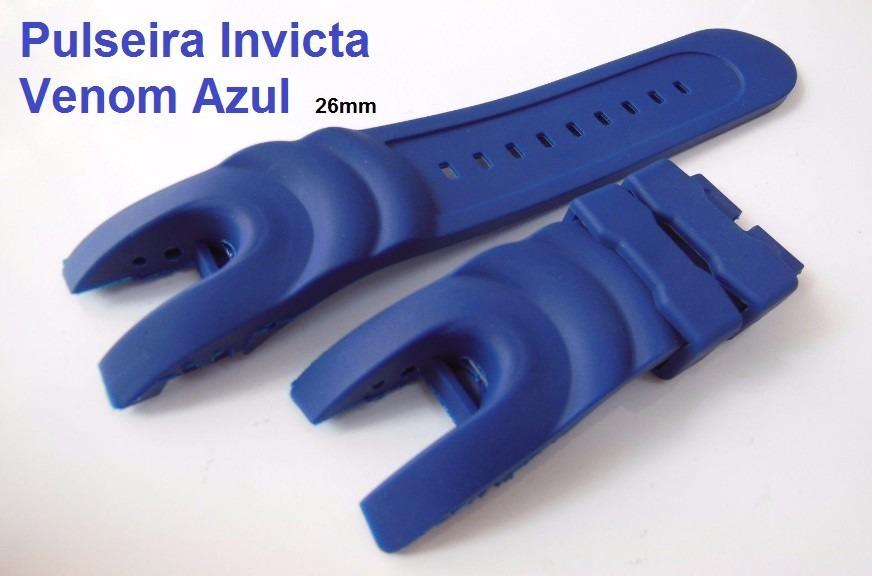 2f83d4270bc pulseira invicta venom 16148 16149 14465 6112 5733 1404 azul. Carregando  zoom.
