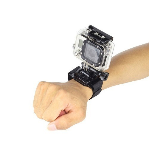 pulseira kopeck mão pulso giratório gopro - todos os modelos