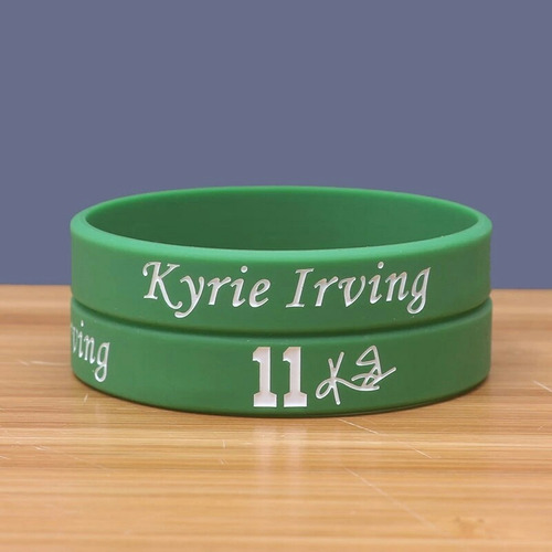 pulseira  - kyrie irving - boston - 2 unidades -frete grátis