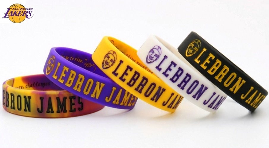 84499459bd1 pulseira lebron james nba - los angeles lakers basquete kobe. Carregando  zoom.