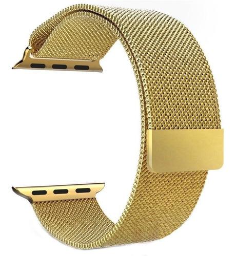 pulseira loop milanese para apple watch 42mm 44mm iwatch