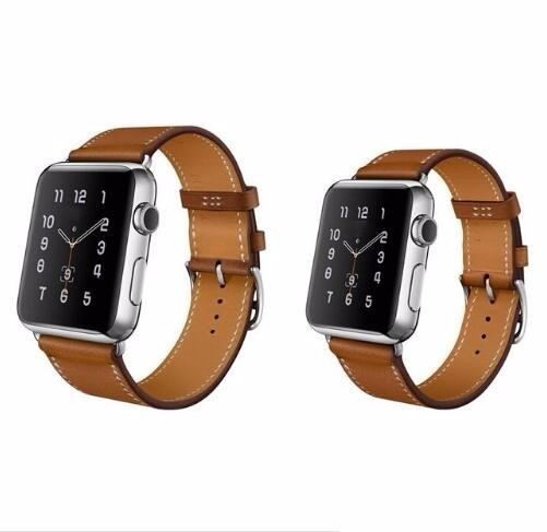 8f57a3c6db4 Pulseira Luxo Apple Watch 42mm Preto Ou Marrom - R  84