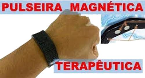 pulseira magnetica 100% original frete gratis + brinde