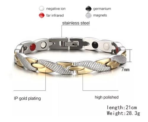 pulseira magnética bioquântica antistress equilíbrio e saúde
