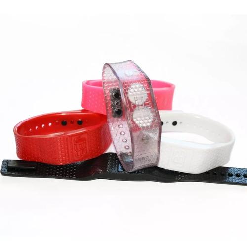 pulseira magnética equilíbrio original c/ 2 infra vermelho