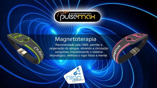 pulseira magnética ions quântica new pulsemax