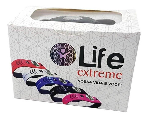 pulseira magnetica life extreme cor branca