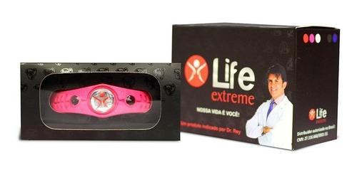 pulseira magnética life extreme original dr. rey