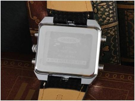 pulseira magnética + relogio ohsen