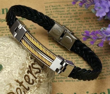 pulseira masculina aço