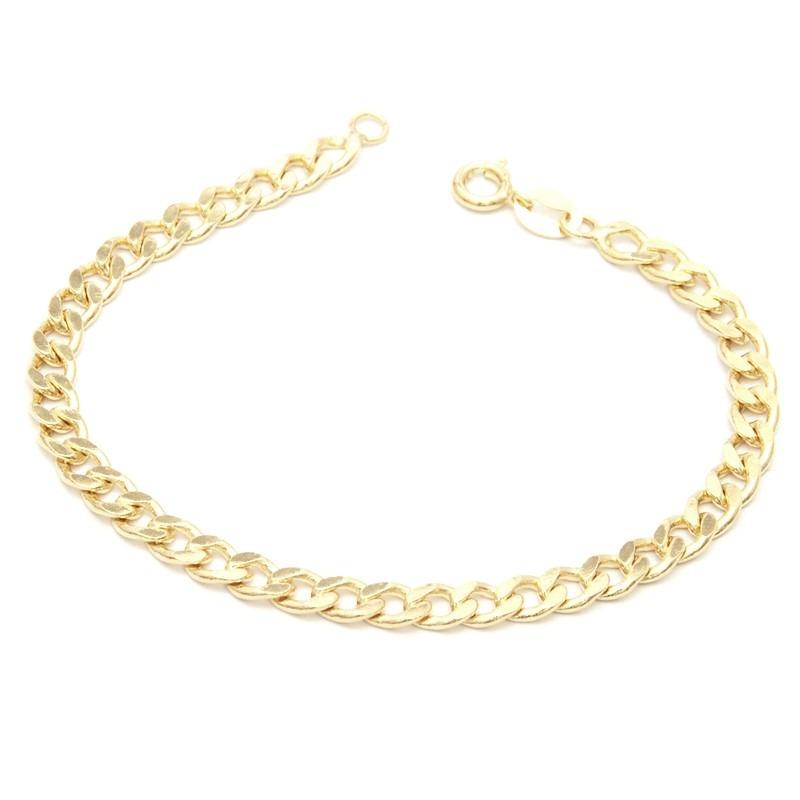 pulseira masculina bracelete banhado ouro 18k semi joia. Carregando zoom. eed94e97c9
