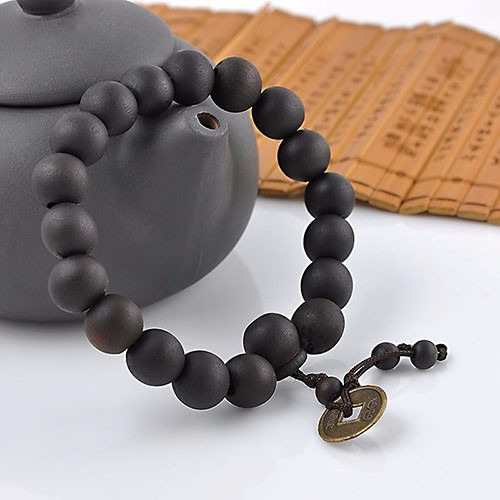 pulseira masculina budista tibetana buda mala contas de 10mm