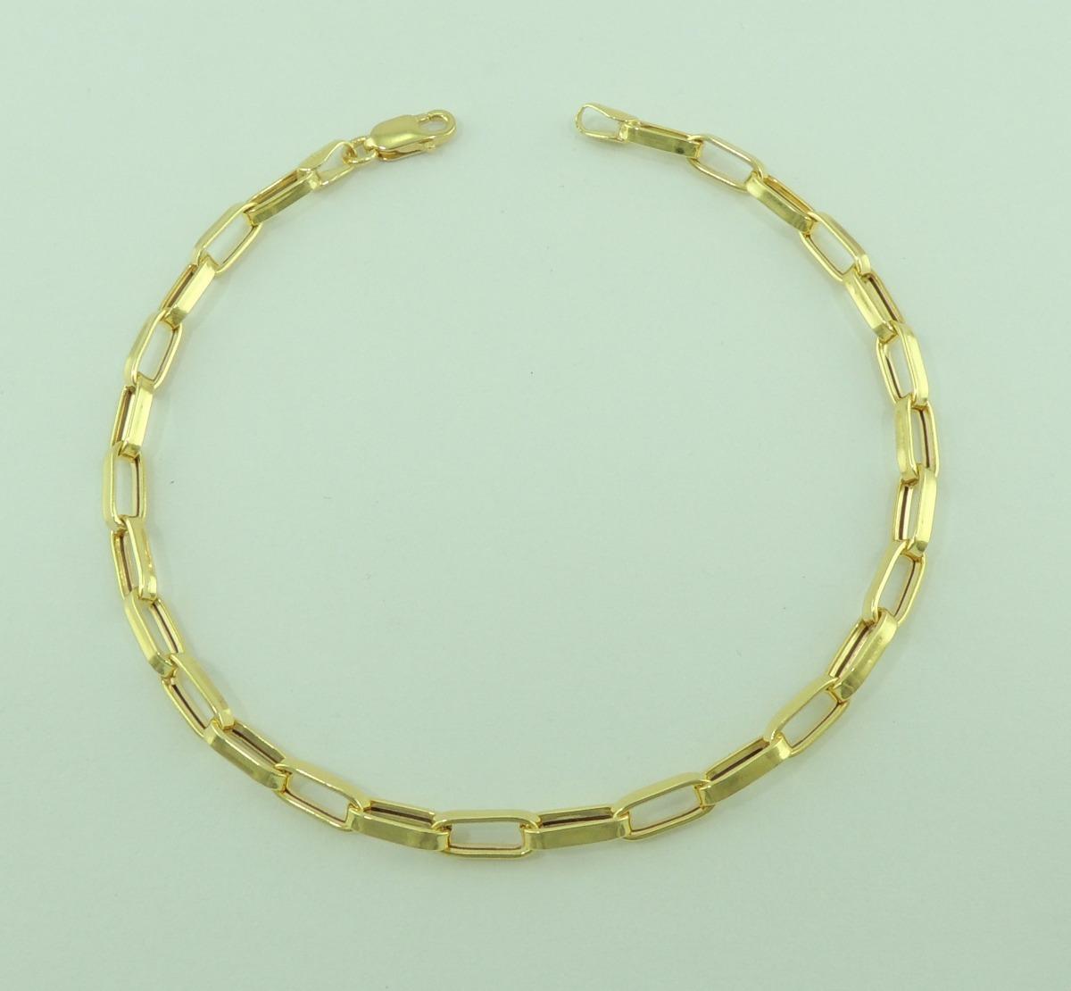 59aca639985 pulseira masculina cartier 20 cm ouro 18k 750 lançamento. Carregando zoom.