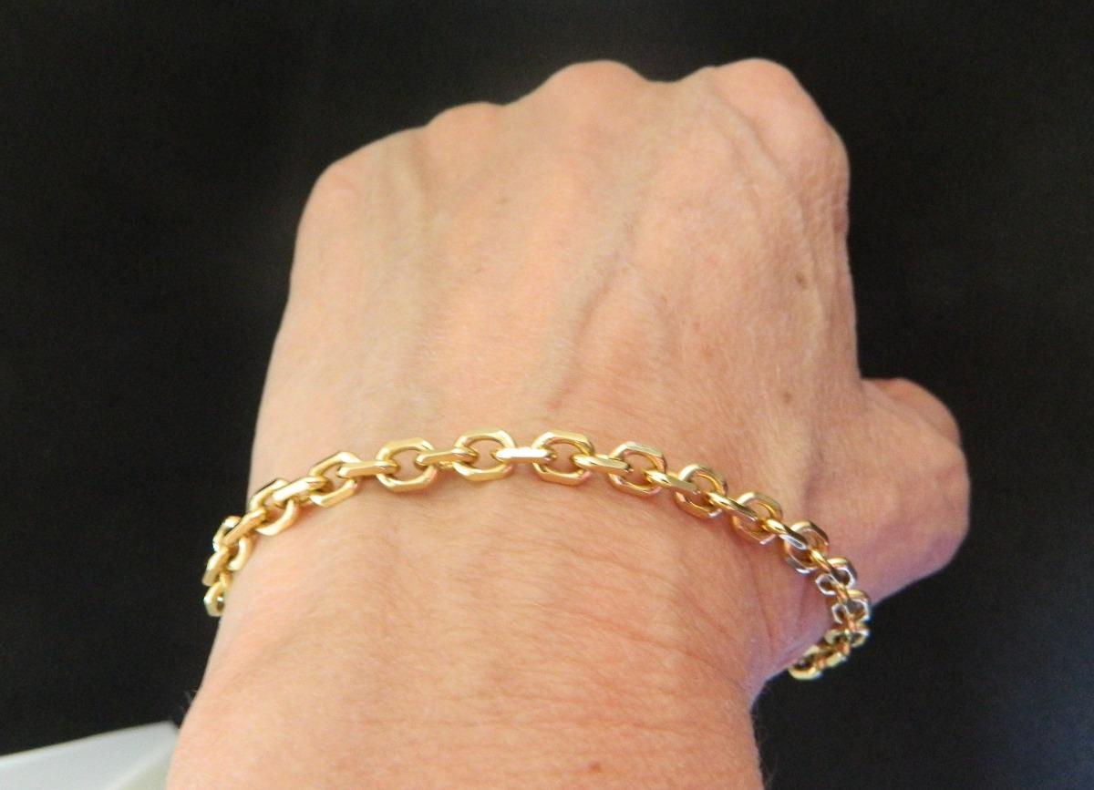 4158276eaed pulseira masculina cartier folheada a ouro. Carregando zoom.