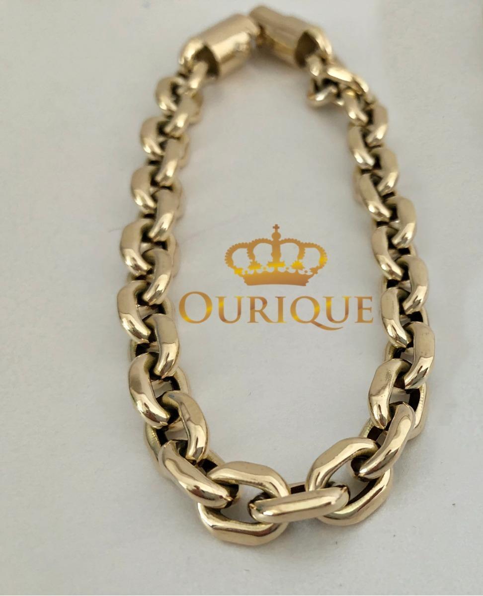 3f6f611a71b pulseira masculina cartier italiano ouro 18k 750 promoção. Carregando zoom.