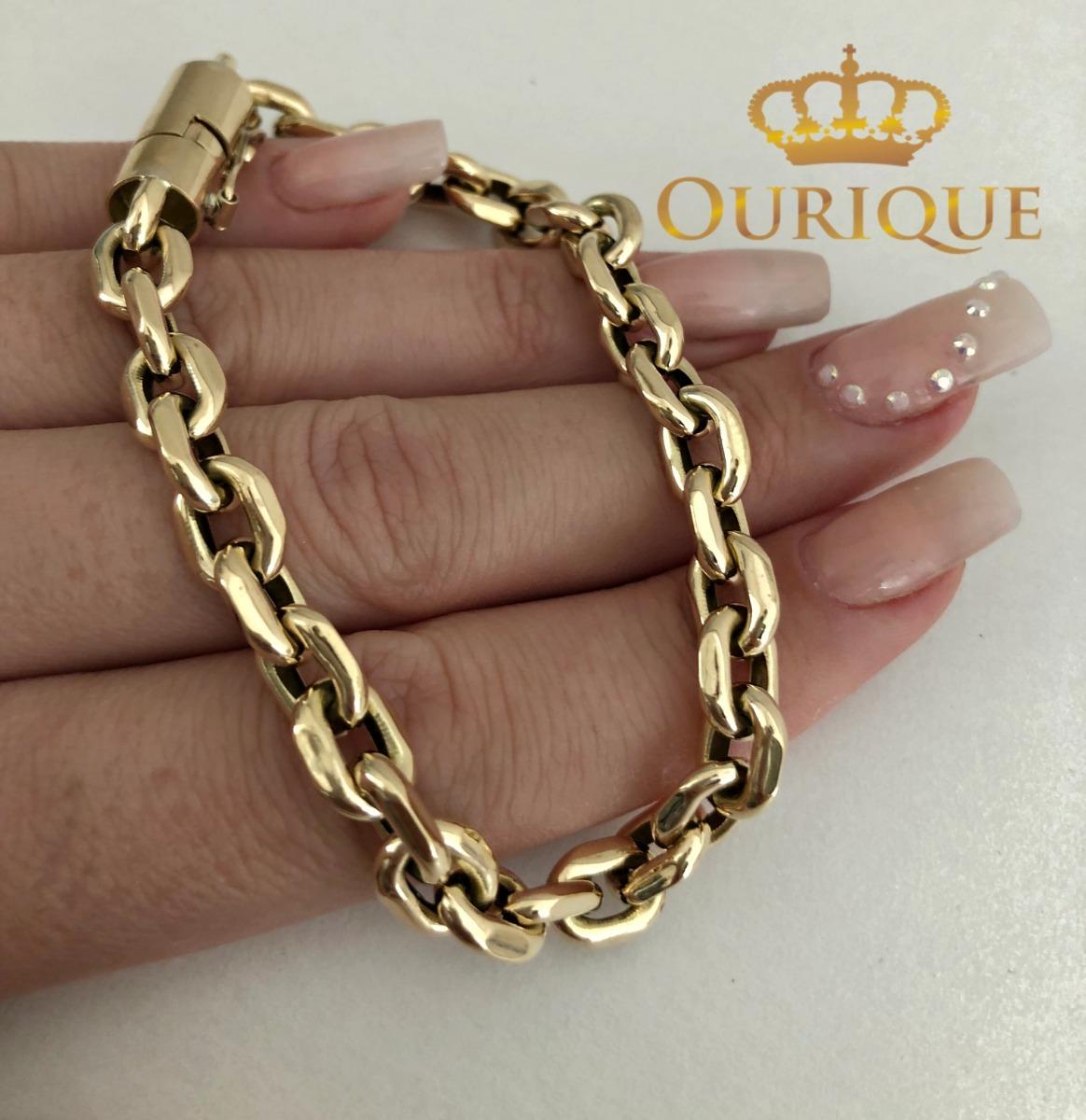 a8d4afdc610 pulseira masculina cartier italiano ouro 18k 750 promoção. Carregando zoom.