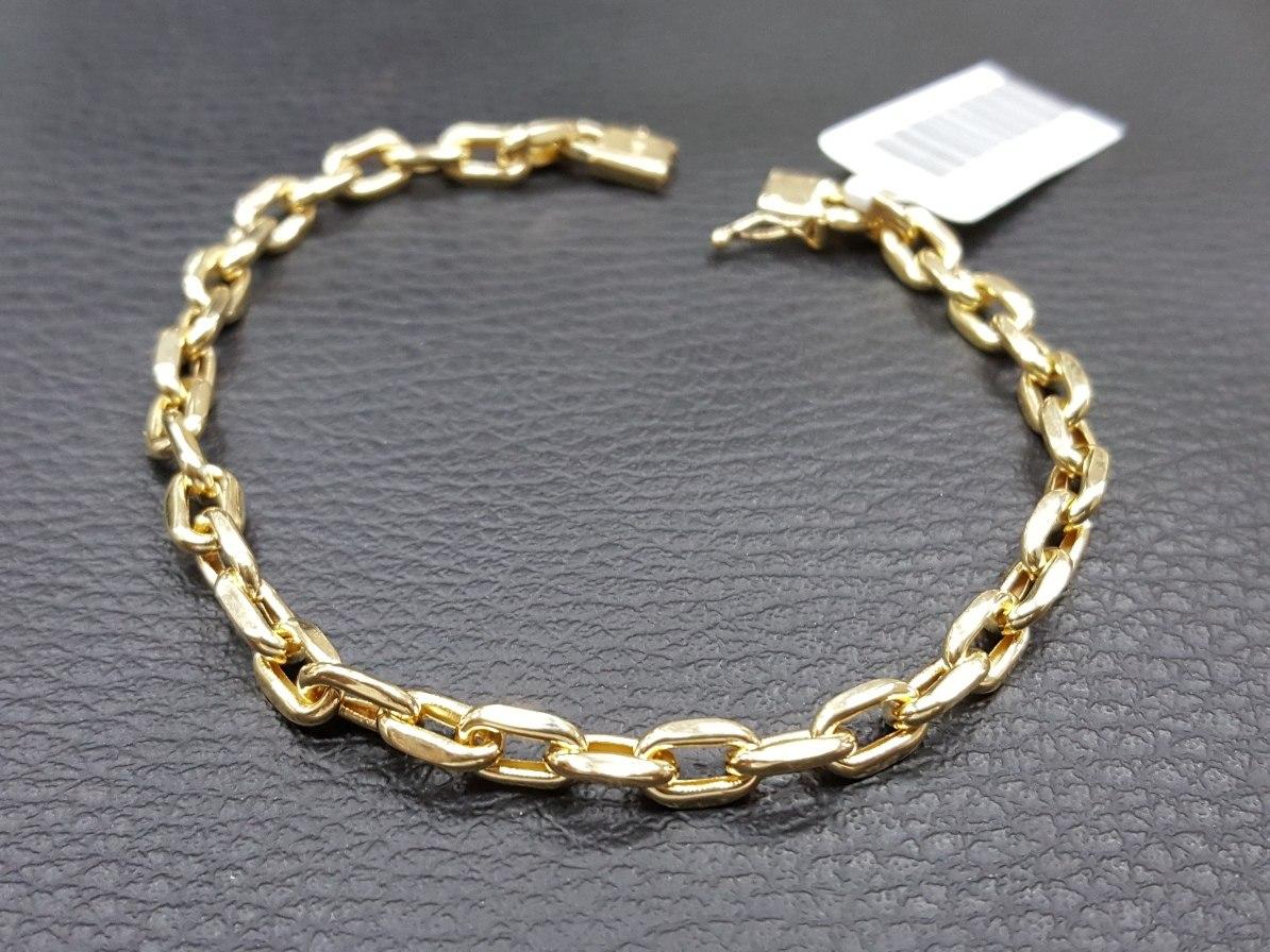 d4c7abe3bab pulseira masculina de ouro 18k modelo cartier clássico. Carregando zoom.