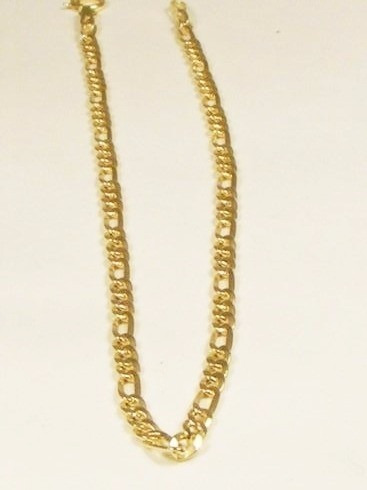 pulseira masculina em ouro 18-750