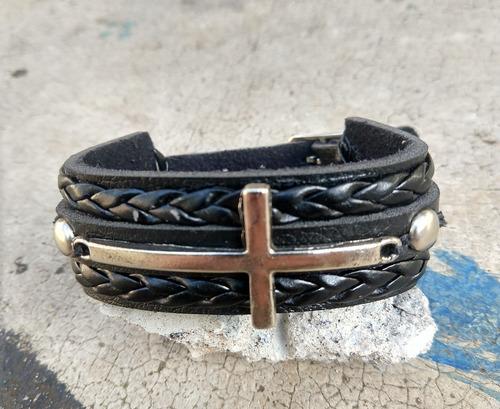 pulseira masculina feminina crucifixo